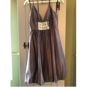 Caché silver bubble dress